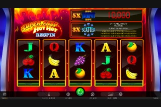 Super Fast Hot Hot Respin Mobile Slot Game