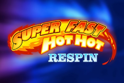 Super Fast Hot Hot Respin Mobile Slot Logo