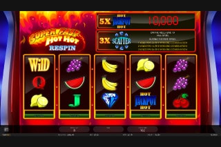 Super Fast Hot Hot Respin Slot With Jackpot