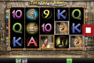 Theatre Of Rome Mobile Slot Game