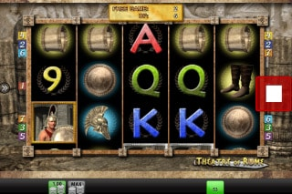 Theatre Of Rome Mobile Video Slot