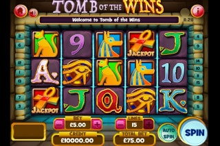 Tomb Of The Wins Mobile Slot Machine
