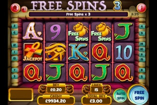 Tomb Of The Wins Slot Free Spins