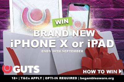 Win New iPhone X or iPad In GUTS-MAS This September