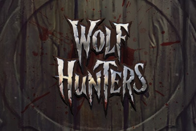 Wolf Hunters Mobile Slot Logo