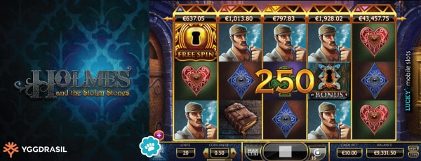 Yggdrasil Holmes and the Stolen Stones Slot Win