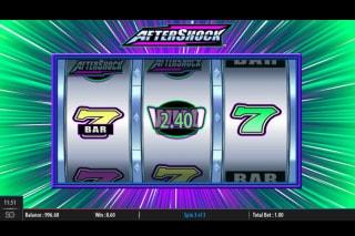 Aftershock Slot Win