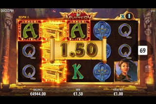 Ark of Mystery Mobile Slot Wilds Respins