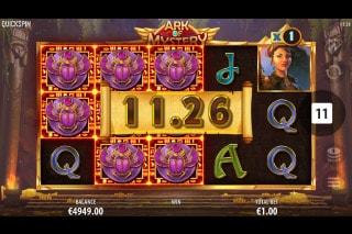 Ark of Mystery Mobile Slot Win