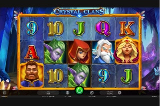 Crystal Clans Mobile Slot Game