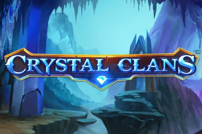 Crystal Clans Mobile Slot Logo