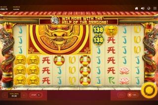 Dragons Luck Power Reels Slot Mega Symbols