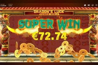 Dragons Luck Power Reels Slot Win