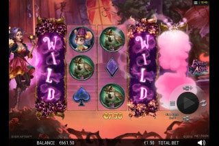 Ever After Mobile Slot Wild Reels
