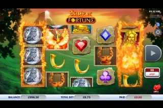 Fire n Fortune Mobile Slot Machine