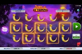 Fire n Fortune Mobile Slot Win