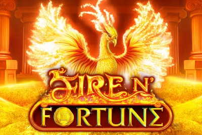 Fire n Fortune Mobile Slot Logo