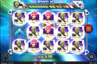Iron Girl Slot Bonus Win
