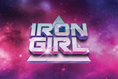 Iron Girl Mobile Slot Logo