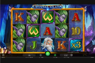 iSoftbet Crystal Clans Slot Game