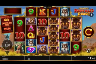 Megaways Buffalo Rising Mobile Slot Machine