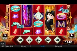Monopoly Big Money Reel Slot Free Spins