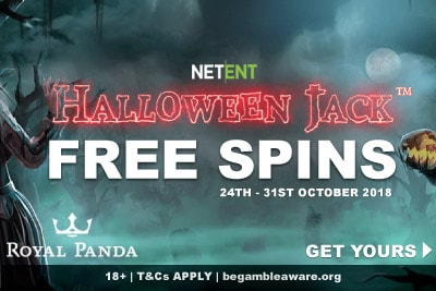 Get Halloween Jack Free Spins at Royal Panda Casino
