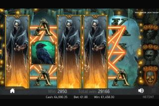 NetEnt Halloween Jack Slot Expanding Wild Free Spins