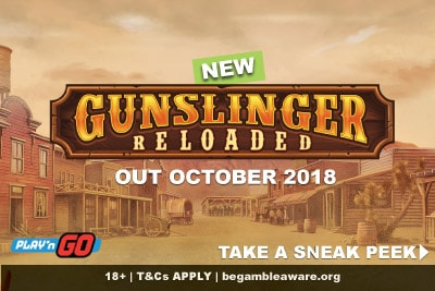 New Gunslinger Reloaded Mobile Slot Coming October 2018