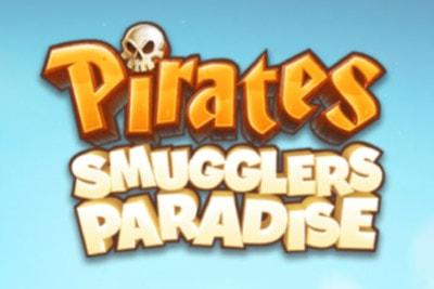 Pirates Smugglers Paradise Mobile Slot Logo