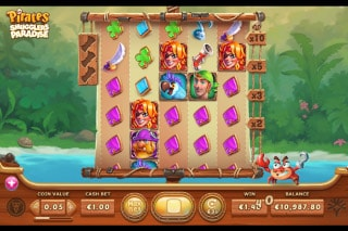 Exclusive Pirates Smugglers Paradise Slot