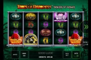 Tales of Darkness Break of Dawn Mobile Slot