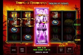 Tales of Darkness Break of Dawn Slot Free Spins