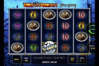 Tales of Darkness Full Moon Mobile Slot Machine
