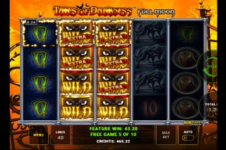 Tales of Darkness Full Moon Mobile Slot Free Spins