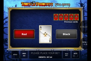 Tales of Darkness Full Moon Slot Gamble Feature