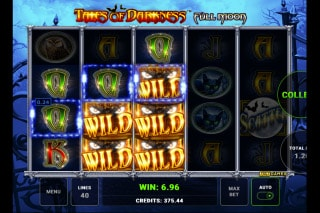 Tales of Darkness Full Moon Mobile Slot Wilds