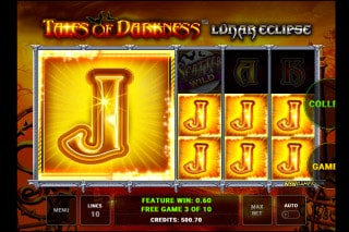Tales of Darkness Lunar Eclipse Slot Free Spins