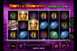 Tales of Darkness Lunar Eclipse Mobile Slot Machine