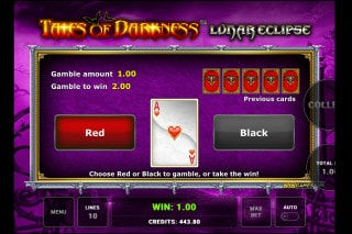 Tales of Darkness Lunar Eclipse Mobile Slot Gamble