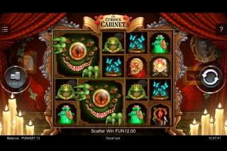 The Curious Cabinet Slot Mega Symbols