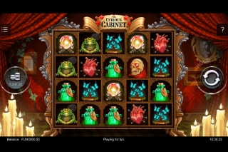 The Curious Cabinet Mobile Slot Machine