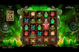The Curious Cabinet Mobile Slot Free Spins