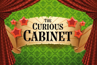 The Curious Cabinet Mobile Slot Logo