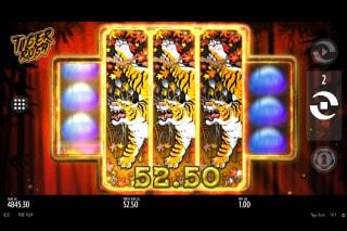 Thunderkick Tiger Rush Slot Bonus Win