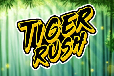 Tiger Rush Mobile Slot Logo