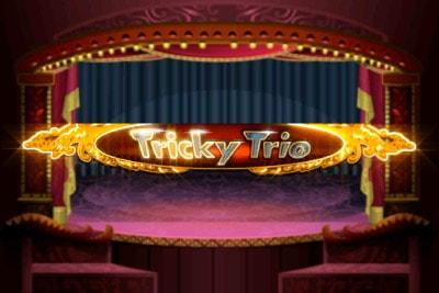 Tricky Trio Mobile Slot Logo