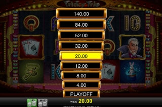 Tricky Trio Mobile Slot Win