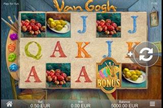Van Gogh Mobile Slot Machine