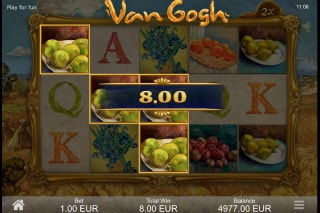 Van Gogh Slot Free Spins Bonus
